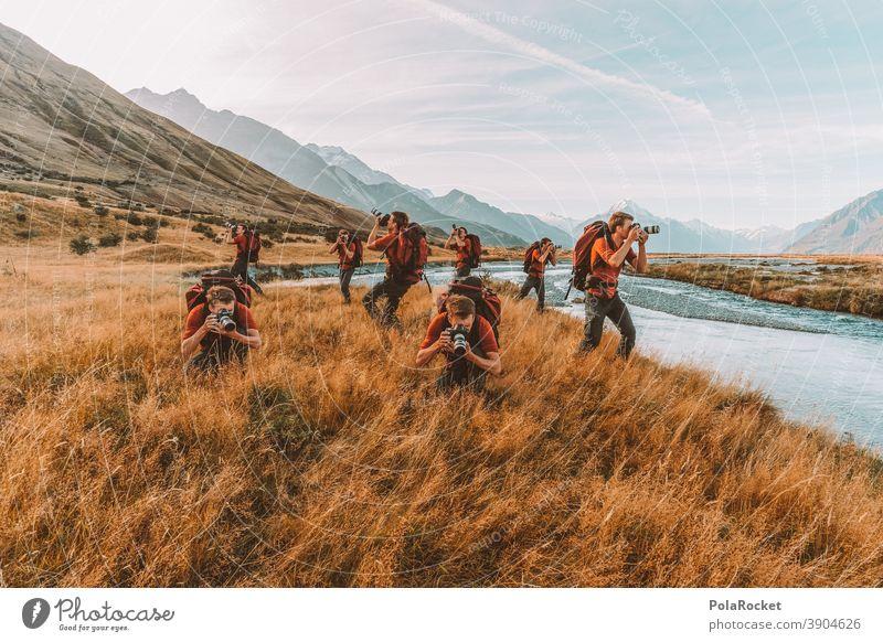 #AS# Neuseeland 3D - Wenn Mann am liebsten alles Fotografieren will fotografierend fotografisch fotografieren will gelernt sein Fotografie Verbot Collage