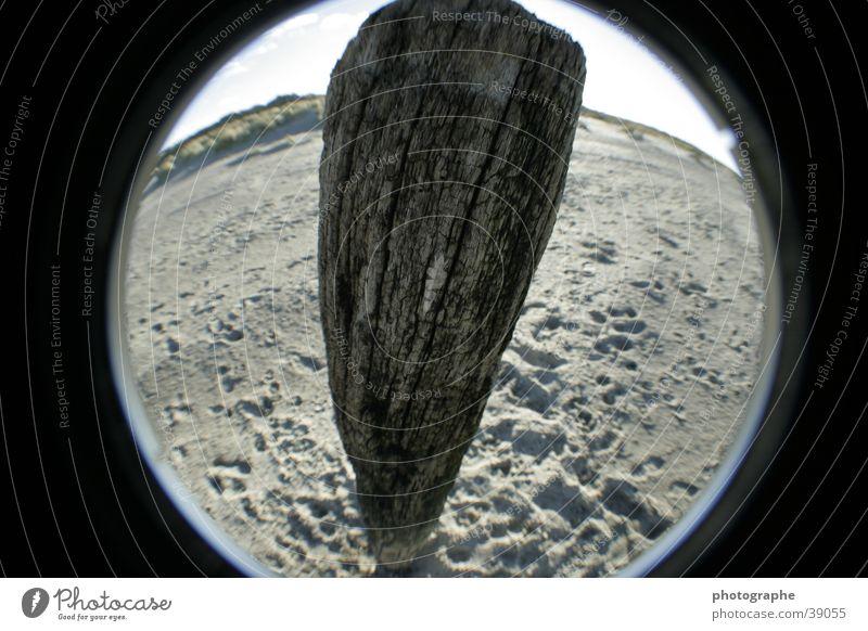 Strandimpressionen II Sand Pfosten
