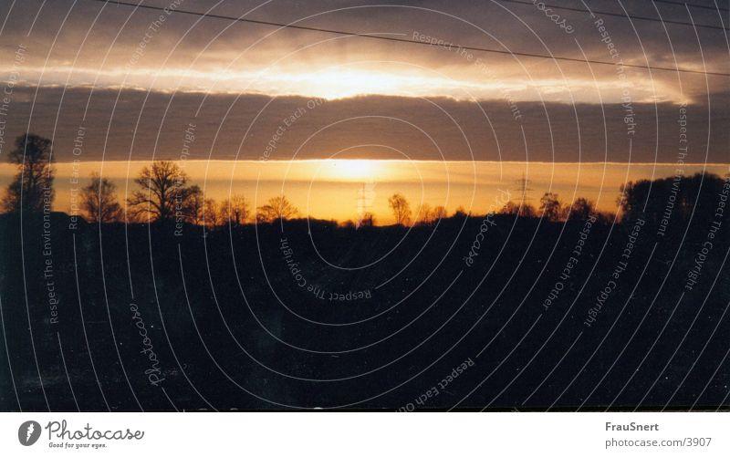 THE BEGINNING Natur Sonne