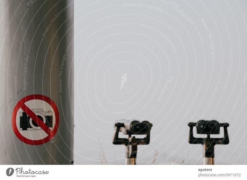 Ferngläser in der DMZ auf der südkoreanischen Seite Süden Norden Korea Borte dmz entmilitarisiert Entmilitarisierte Zone Sehenswürdigkeit keine Fotos erlaubt