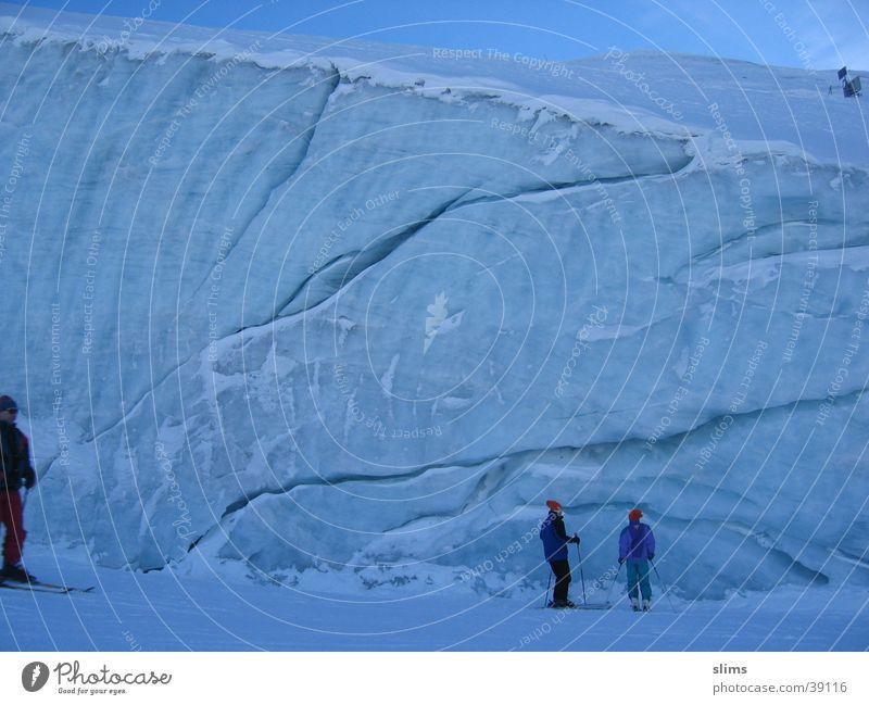 blaues eis Schnee Berge u. Gebirge Eis