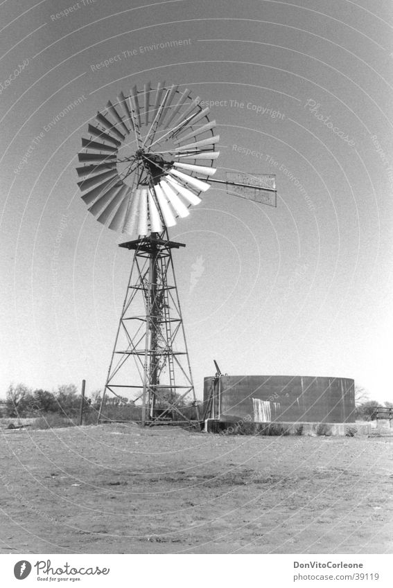 Australien 96-II Wasser Windkraftanlage Brunnen Pumpe Outback