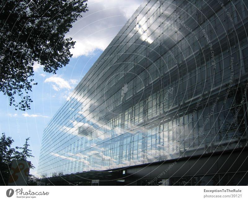 Wolkenkratzer Himmel Wolken Gebäude Architektur Wetter Spiegel Moderne Architektur