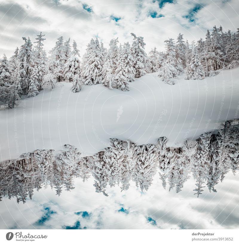 Doppelte Harzwelt im Winter auf dem Brocken Joerg Farys Nationalpark Naturschutz Niedersachsen harz naturerlebnis naturschutzgebiet naturwunder sachsen-anhalt