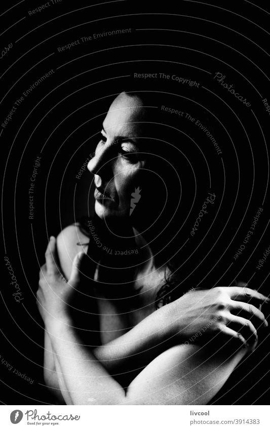 beauty lady IV, spanien Porträt schön attraktiv Stil Verlockung Selfie eine Person Reife Frau Menschen romantisch romantische Haltung Hand braun Erwachsensein