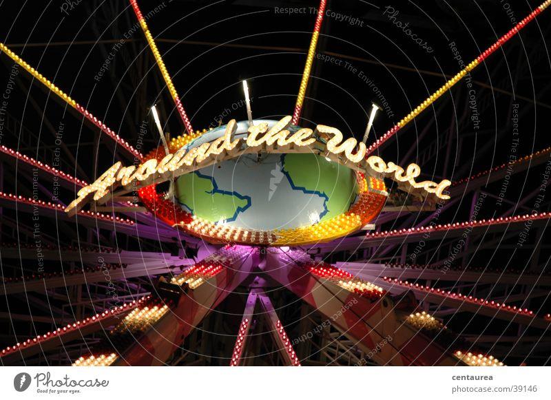 around the world :-) Freude Feste & Feiern obskur Jahrmarkt Riesenrad ausgehen Zuckerwatte
