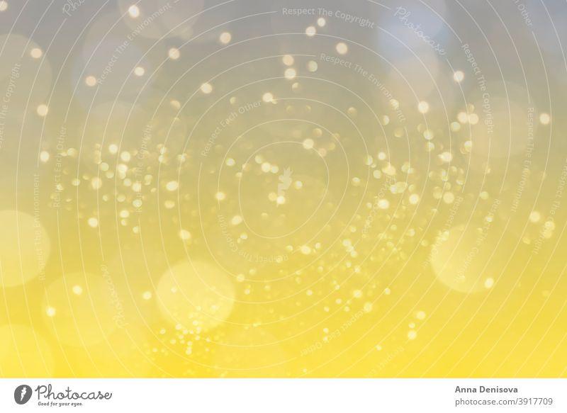 Abstraktes Licht, Bokeh-Muster Gradient verschwommen Unschärfe Herz Liebe Hintergrund defokussieren lichtvoll gelb endgültig grau Farbe Jahr Stilrichtung 2021