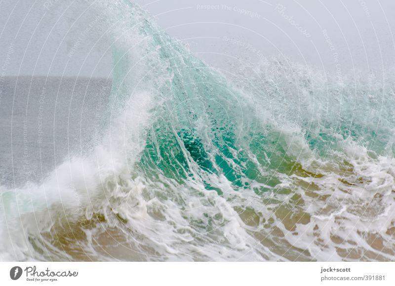Snapper Rocks Himmel Natur Wasser Meer Bewegung Wachstum Kraft Wellen Energie frisch nass Spitze bedrohlich Wandel & Veränderung rein Gewalt
