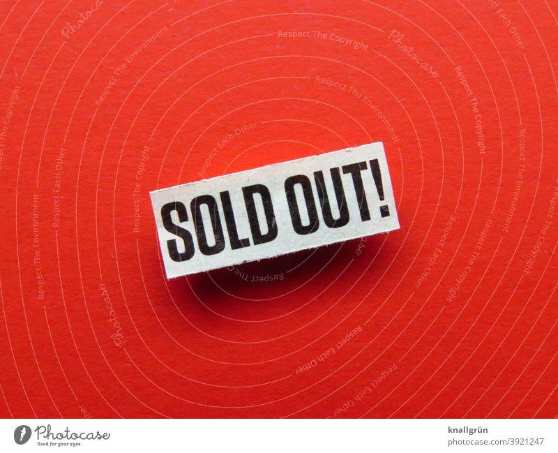 Sold out! Ausverkauft leer kaufen Konsum Markt Geschäft Ladengeschäft Einzelhandel Supermarkt Verbraucher Produkt Kunde Bestseller Gewerbe Kauf Regal Sale Lager