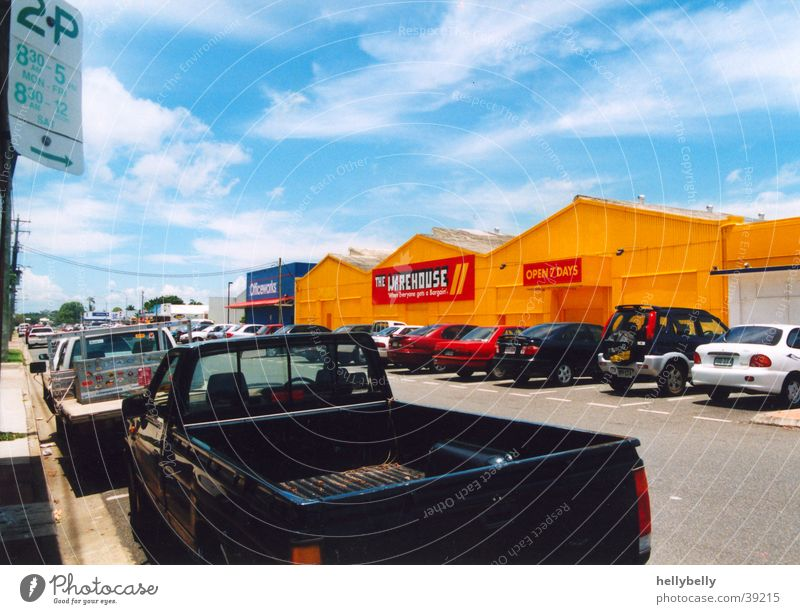 straße in mackay Straße PKW Australien Pickup