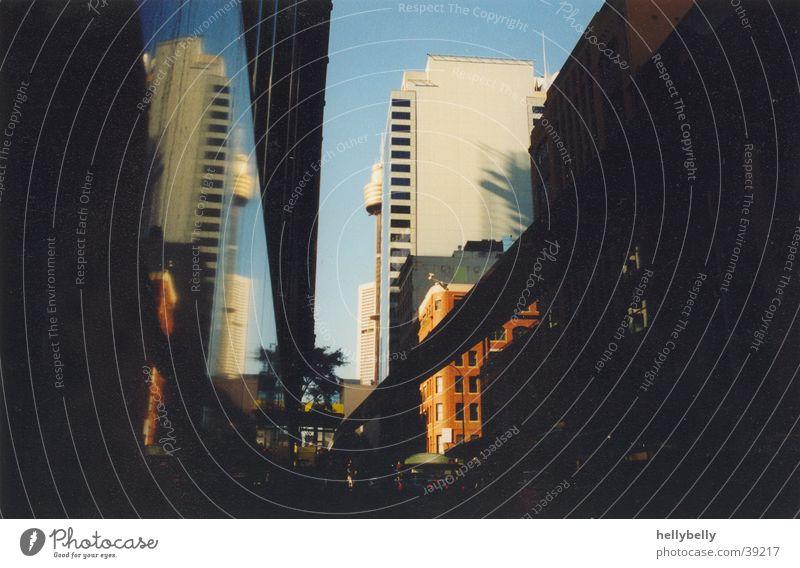 gebäude in sydney Sydney Gebäude Australien Reflexion & Spiegelung Magnetschwebebahn Architektur Schatten Stadt