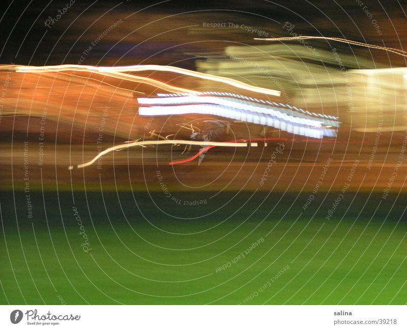 autpspur grün Wiese PKW Nebel Hintergrundbild faszinierend