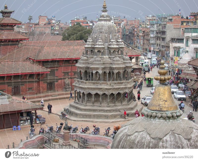 Patan Durbar Square Stadt Erfolg Nepal Kathmandu Durbar Platz