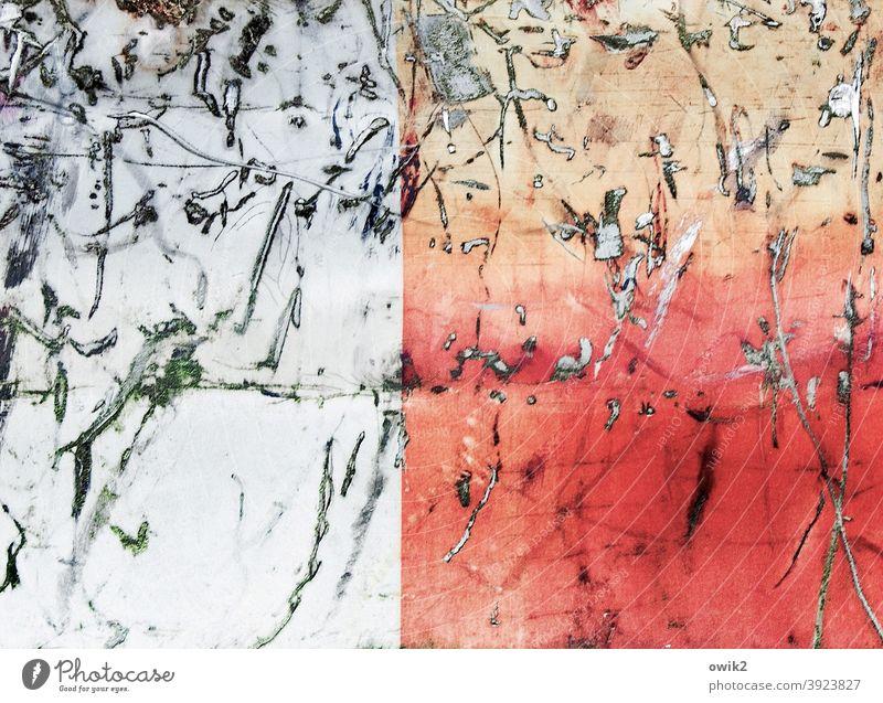 Durcheinander Container Kratzer bizarr Gewalt mehrfarbig Zerstörung Wandel & Veränderung Schaden verfallen verrückt kaputt Oberflächenstruktur Abnutzung