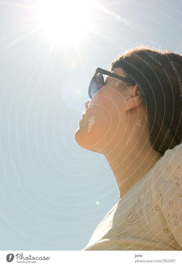 der sonne entgegen Leben harmonisch Wohlgefühl Zufriedenheit Erholung Ferien & Urlaub & Reisen Freiheit Sommer Sommerurlaub Sonne feminin Junge Frau Jugendliche