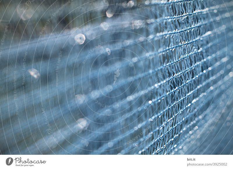 Trash l blauer Glitter, in den Weinbergen glitzern funkeln glänzend Dekoration & Verzierung Design Unschärfe abstrakt
