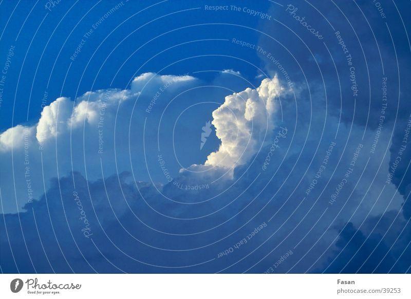Wolkenformation Natur Himmel Wolken Wetter Gewitter