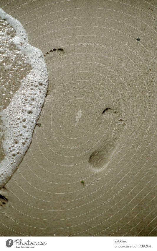 lechos del pie Natur Meer Strand Freiheit Fuß Wellen Europa