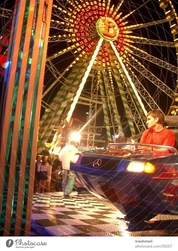 Kirmes Jahrmarkt Riesenrad Freizeit & Hobby Angst Licht