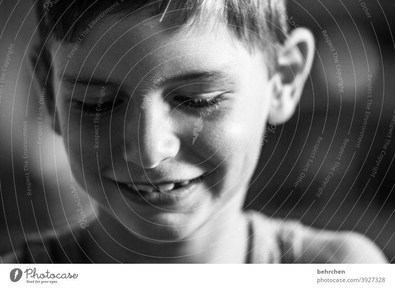 wenn ein lächeln alles sagt Lächeln Liebe Glück glücklich fröhlich Fröhlichkeit Zufriedenheit Kindheit Familie & Verwandtschaft Sohn Freiheit Tourismus