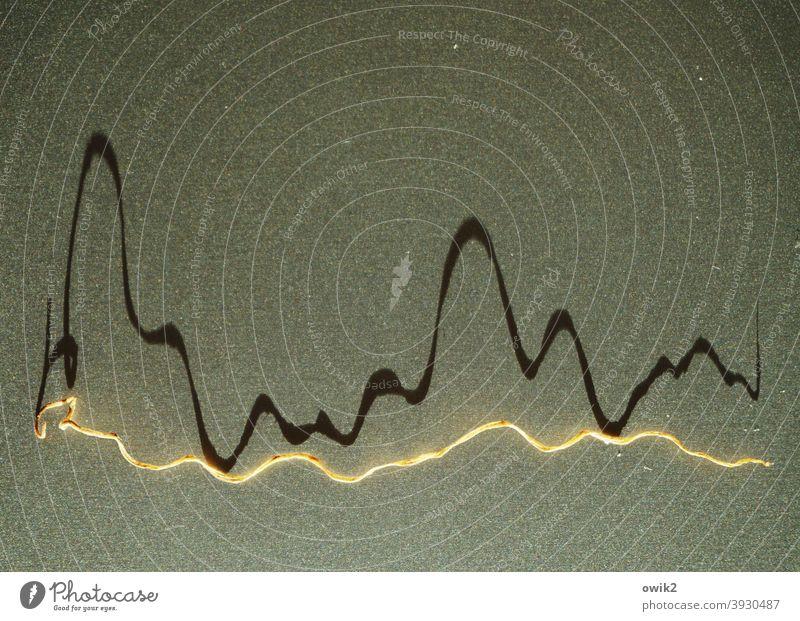 Slalom Kurve Zickzack abstrakt Muster Farbfoto Menschenleer Strukturen & Formen Grafik u. Illustration graphisch Detailaufnahme Farbe Geometrie Linie Design