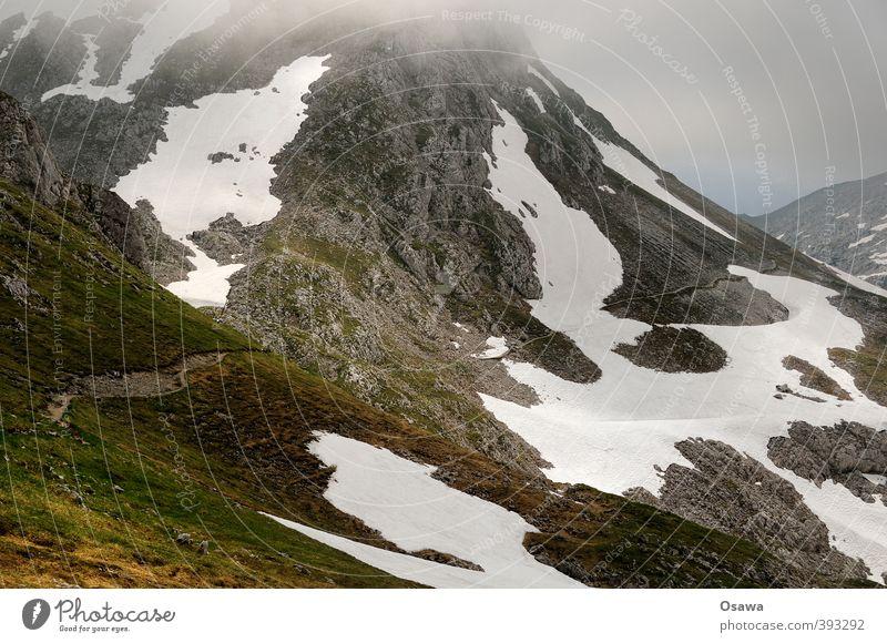 Kleine Reibn Berge u. Gebirge wandern Fitness Sport-Training Klettern Bergsteigen Umwelt Natur Landschaft Urelemente Erde Himmel Sommer Wetter Schönes Wetter