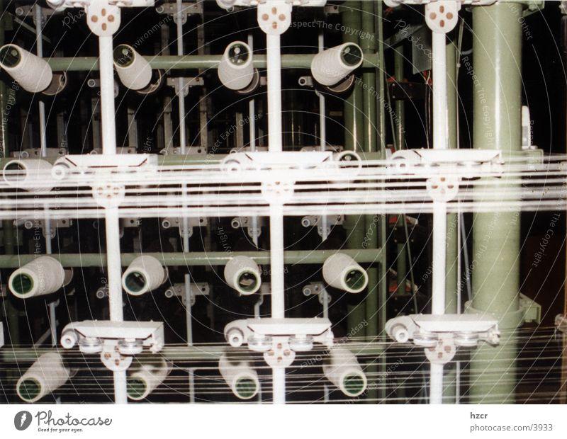 spulen Textilien Industrie Textilverarbeitung Windung Nähgarn Spinne