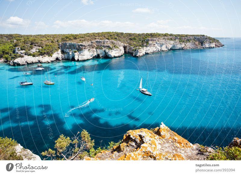 CALA MACARELLA - BALEAREN Menorca Cala Macarella Cala Macarelleta Mittelmeer Balearen himmlisch paradiesisch Spanien Ferien & Urlaub & Reisen Reisefotografie