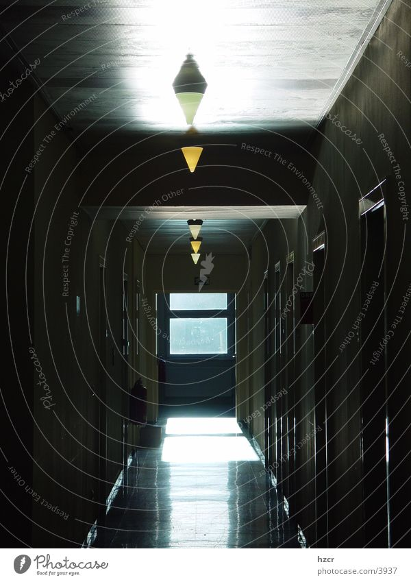 flur Flur Licht Architektur Schatten Gang