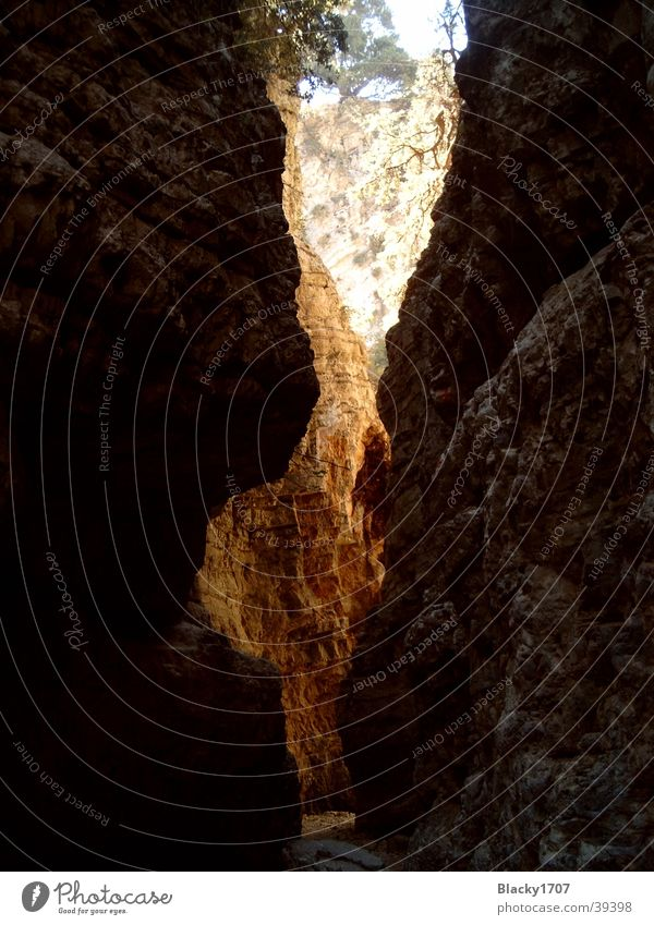 Imbros Schlucht Berge u. Gebirge Felsen eng Griechenland Kreta