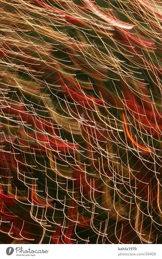 Funkenspiel Licht Geschwindigkeit abstrakt Hintergrundbild Fototechnik Unschärfe