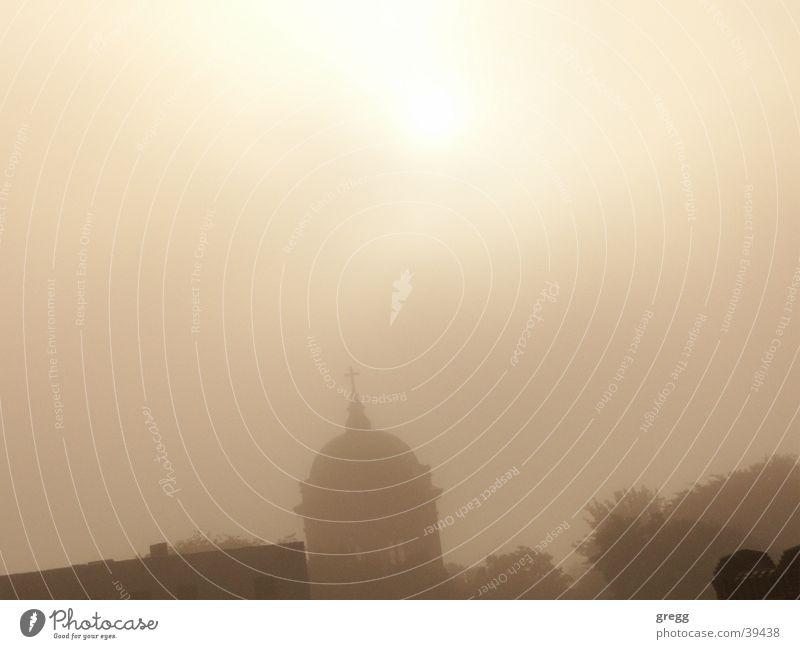 morning fog @ cathedral Magdeburg Nebel Langzeitbelichtung Morgen Kathedrale