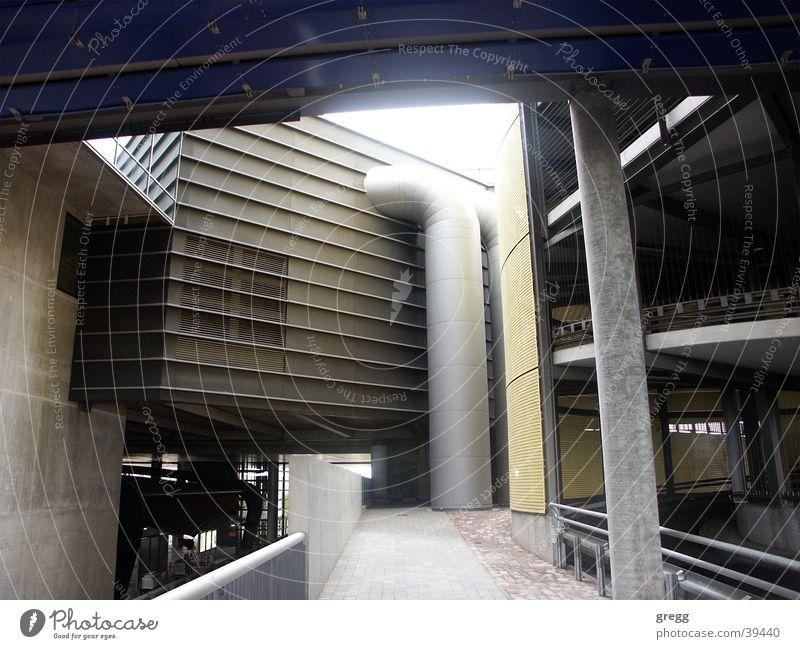 airport schkeuditz Gebäude Architektur modern Flughafen Leipzig Sachsen technisch