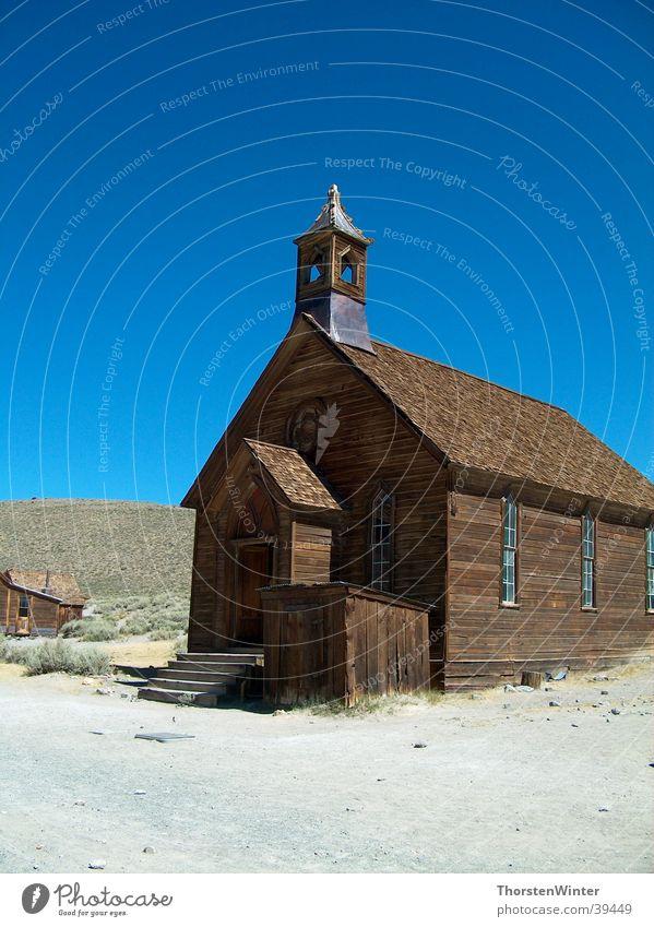 Chapel in Bodie Ghost Town Haus Religion & Glaube USA historisch Kalifornien Geisterstadt Mono Lake