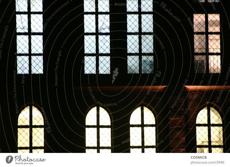 Fenster Licht Architektur Lampe Detailaufnahme Illuminiert