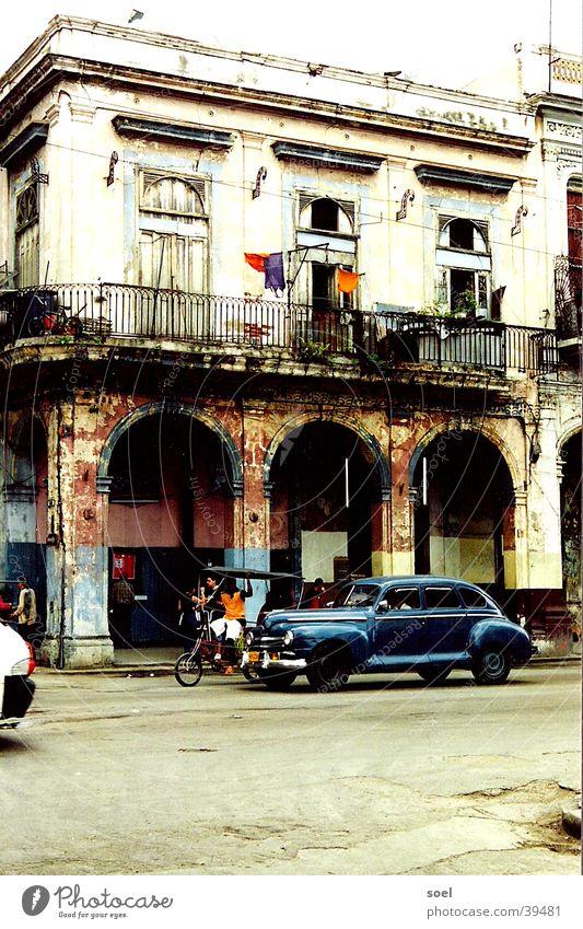 cuba 3 Stadt Straße Kuba Mittelamerika