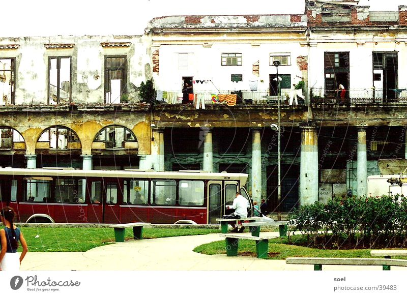 cuba 2 Kuba Mittelamerika Stadt Straße Architektur