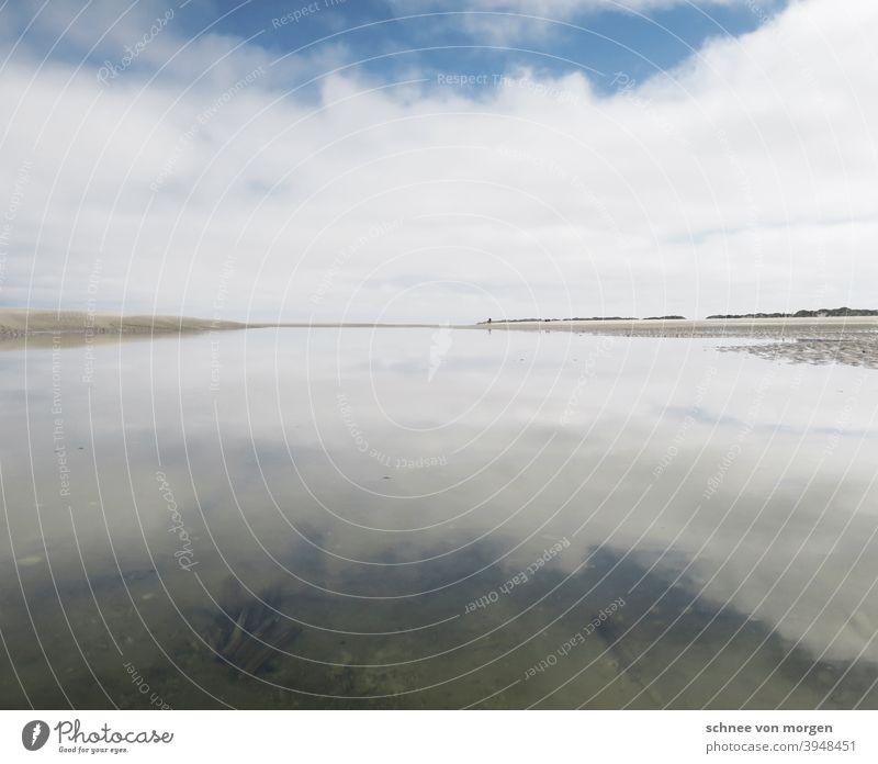 weite macht süchtig meer wasser rauschen strand Strand Wasser Wellen Sand Ferien & Urlaub & Reisen blau Erholung Himmel Horizont Natur Menschenleer Küste