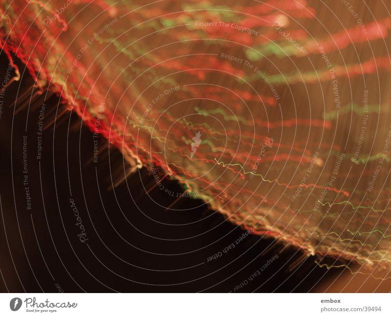 Leuchtspuren Lampe Langzeitbelichtung Unschärfe obskur Detailaufnahme Licht Lichterscheinung Spuren Glasfaser
