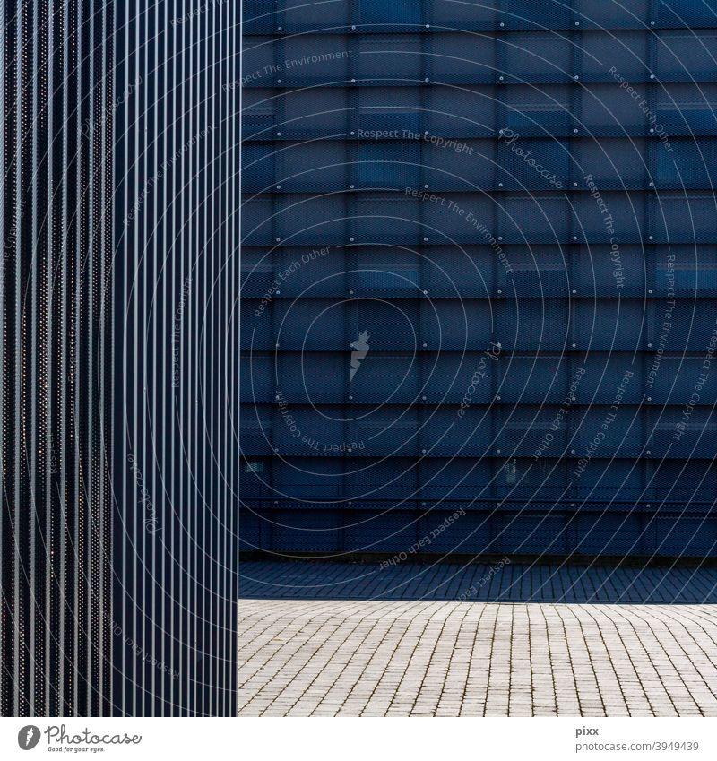 IIIIIII=___= ich komm aus dir Ruhrgebiet Strukturen & Formen flächen Pflastersteine Glas Westpark Wiederholung Bochum Architekturfotografie Einsamkeit allein