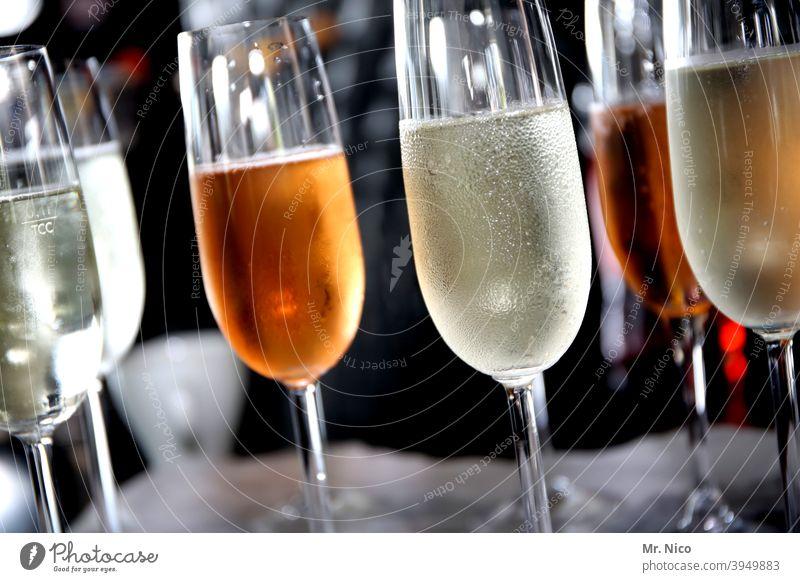 zuviel Alkohol I ungesund Sekt Glas Prosecco Getränk Champagner Sektglas Feste & Feiern Erfrischungsgetränk trinken Alkoholisiert lecker Spirituosen Bar Party