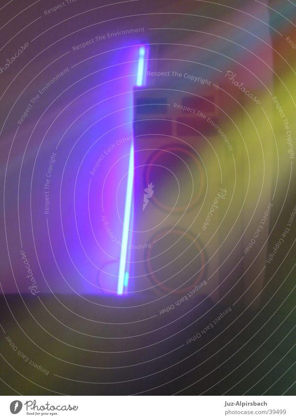 Disco-Box Lautsprecher Schwarzlicht Licht Entertainment Stimmung