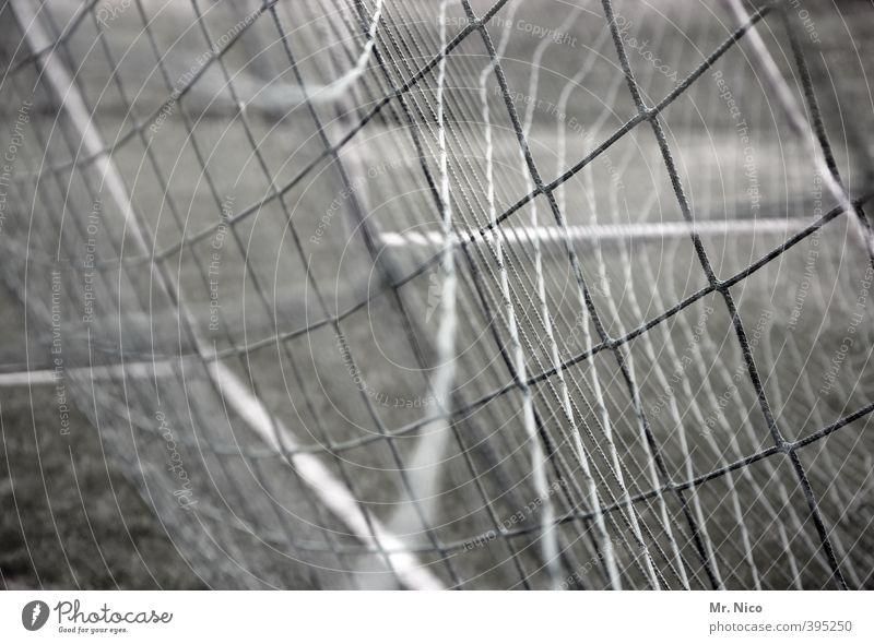 TorTor Freizeit & Hobby Sport Ballsport Fußball Fußballplatz skurril Netz Fußballtor Doppelbelichtung Netzsicherheit verknüpft goal Knoten Schnur Spielen