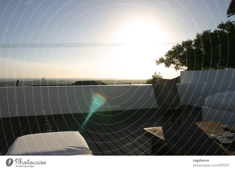 Sonnenuntergang in der False Bay Zufriedenheit Südafrika Afrika Kapstadt Sonnendeck