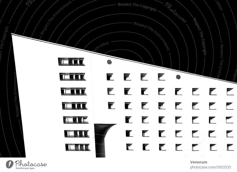 Wohnhaus in Berlin Haus Häuser Miete Appartement Mietwohnungen Gebäude flach Appartements Leben ruhig Stadtleben Fassade faceses kreativ kreative Optik optisch