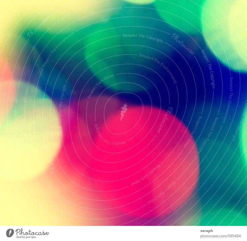 Kreise Farbe Ordnung Spitze weich Punkt erleuchten kariert Mischung Lightshow Lichtspiel gepunktet diffus kreisrund Verzerrung gemischt Lichtkegel