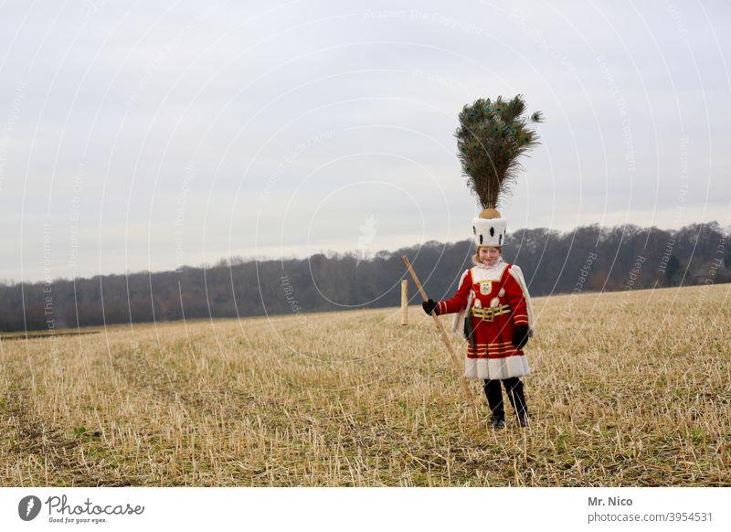 Kölner Bauer Landwirtschaft Natur Ackerbau Ernte Feld Kostüm Landschaft Stoppelfeld ländlich kostümiert Karneval Fasching dreigestirn Himmel kölner bauer