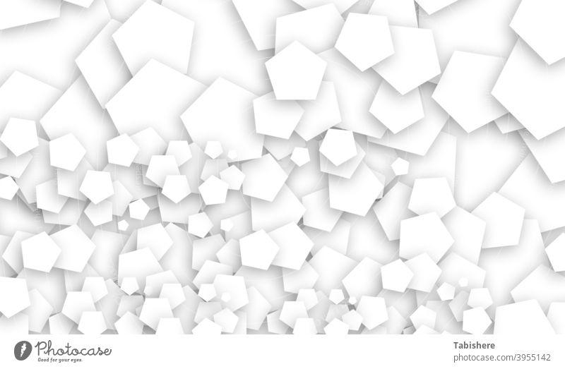 Pentagon fraktales Design Stockfoto Pentagon - Form, abstrakt, Hintergründe, schwarz und weiß, fraktal schwarz auf weiß geometrische Form Am Rande der