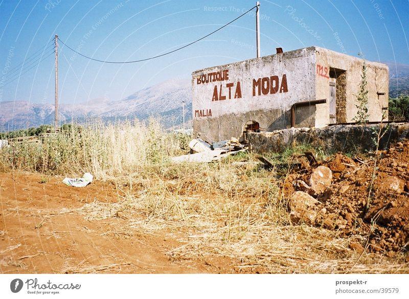 Alta Moda Ferien & Urlaub & Reisen Berge u. Gebirge Europa verfallen Hütte Gegenteil Griechenland Kreta Norwegen