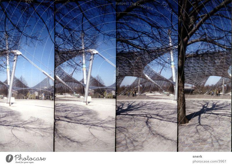 Olympiapark München Platz Lomografie Architektur